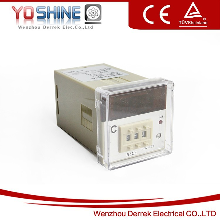 E5C4 Display Temperature Controller/ 48X48 Temp Controller Thermostat