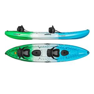 Three Person Family Cheap Sit In Fishing Plastic Kayaks With Paddle for sale