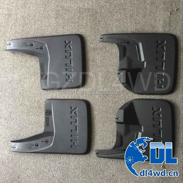 Truck Rear Mud Flaps Original Style Mudguards For Toyota Hilux Revo