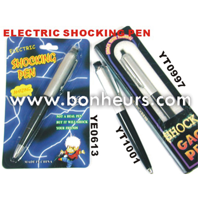 2016 Novelty Toy Electric Shocking Pen