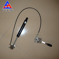 adjustable and lockable gas spring with button used on sofa and medical bed 250N 350N