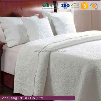 B-014 Comfortable Plain Hot Selling Super Soft Stock Hotel Blanket