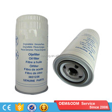 OEM 3831236 W962 Heavy Duty European Tractor Lubrication System Auto Volvo Truck Oil Filter
