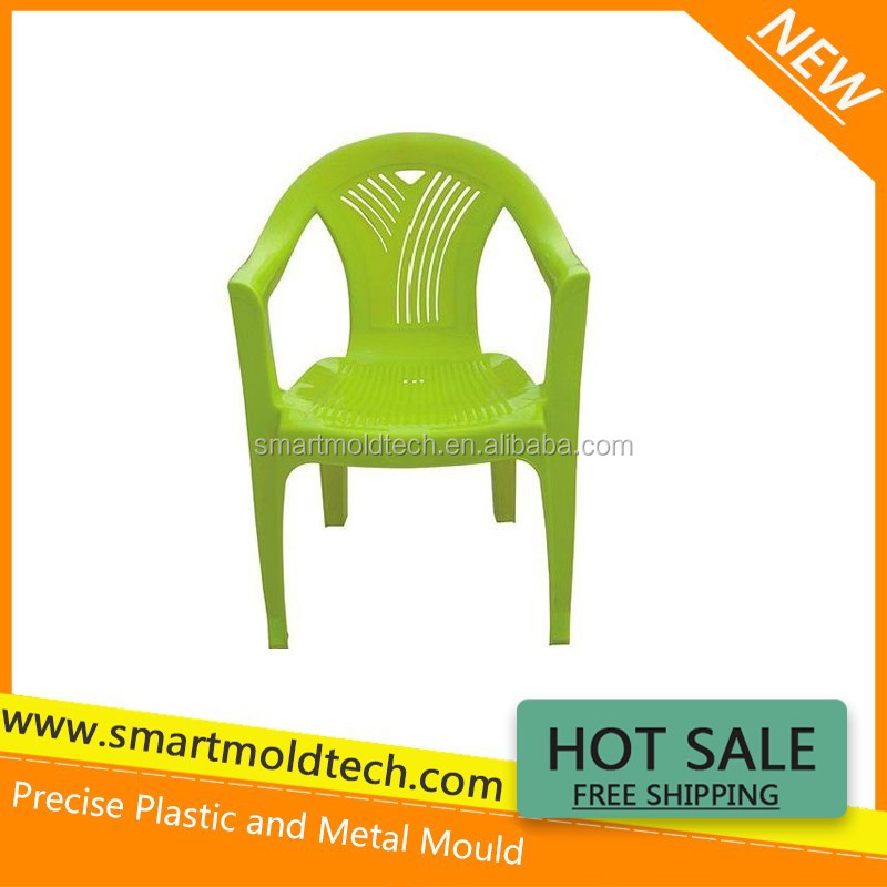 Latest Customized Precise Plastic Injection Molding---Green Chair