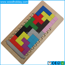 Wholesale puzzle game Wooden Tangram