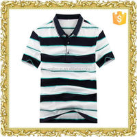 Promotional cotton spandex factory reasonable price men's polo tee shirt