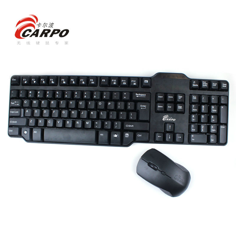 Computer accessory unique design usb computer wireless keyboard mouse combo