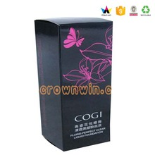 Packaging cosmetics box carton,cosmetic color carton box