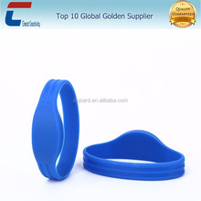 New design custom logo printing Skating/Club Ticket Comfortable Silicone RFID Wristband