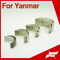 BN engine con rod bearing for Yanmar marine diesel engine spare parts