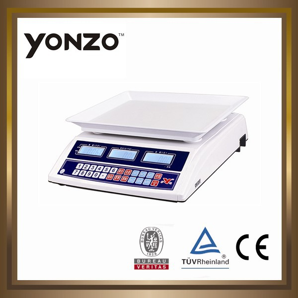 YZ-963 electronic digital price computing weighing scales mill scale buyers