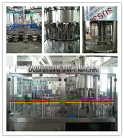 carbonated beverage filling machinery/caps for water and soft drink bottles