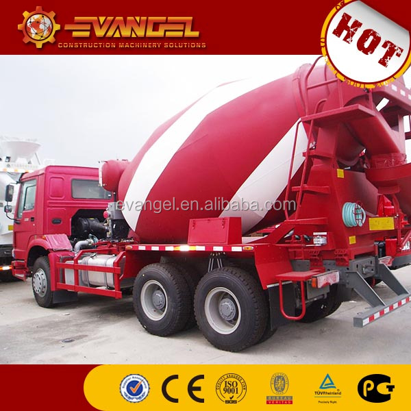 planetary concrete mixer HOWO brand concrete mixer truck from China