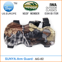 Archery arm guard with 3 straps and camouflage(AG-02)