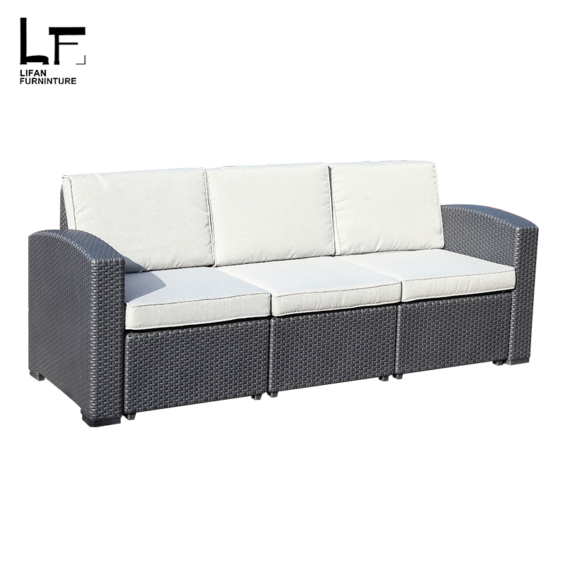 Waterproof relaxing garden patio furniture sets outdoor art deco Garden Sofa