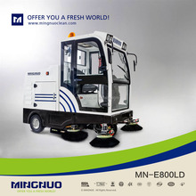 commercial electric road cleaner/auto-dumping vehicle