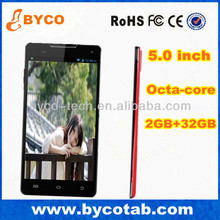 5.0 inch 13MP 2gb ram 32GB 1.7GHz MTK 6592 octa core phone