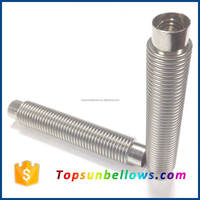Stainless steel compensator welded small bellow hose