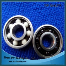 skateboard miniature longboard wheels hybrid ceramic Si3N4 ZrO2 ball bearing 608 2rs zz 608rs with balck white ball