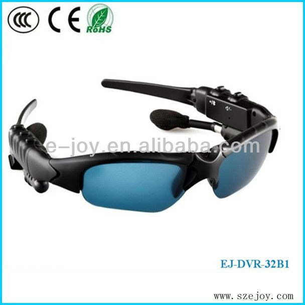 Portable Security Hidden Sunglass Camera video recording &MP3 function EJ-DVR-32B