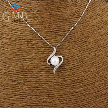 2017 Latest wholesales price siliver plated bio solar energy pendant