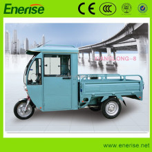 "800W 48/60V Electric Tricycle,3 Wheel 12"" Electric Bicycle with shed for Passenger and Cargo Loading"