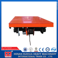 Variety style good quality small electric industrial flat car