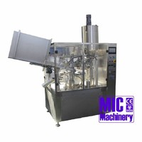 MIC-R60 Full Automatic Speed 60BPH Squeeze tube sauce filling machine
