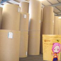 Customer Printing laminated BOPP/Brown Kraft Paper/VMPET/PE Roll for making bag