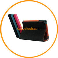Fashion Jeans Style Stand Flip Wallet Leather Smart Skin for iPad Mini from Dailyetech