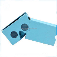 high quality google cardboard custom priting vr Headsets 3d glasses