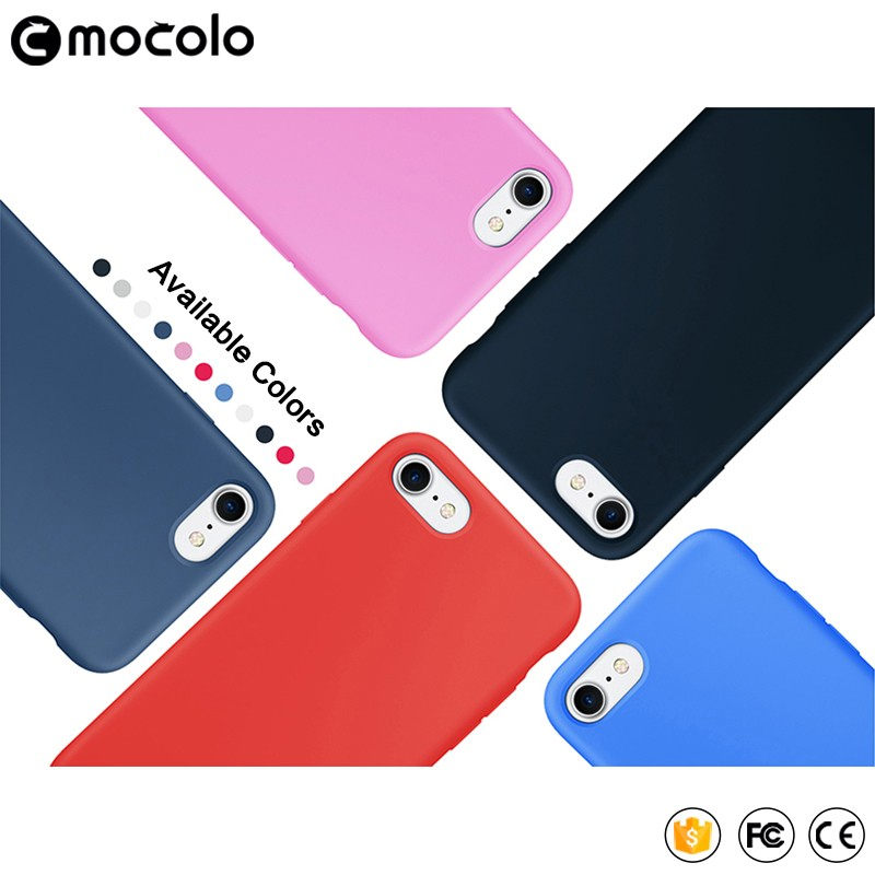 Soft Case for IPhone 7 / 7 Plus Liquid Silicone 2017 Hotselling Phone Case