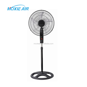 18 inch floor standing fan ox blade round base stand fan newest model hot sale