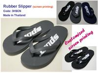 Sell Rubber Slipper made in Thailand (customized screen printing)