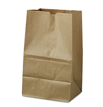 Factory Wholesale Price Custom Printed Recycle Bread Shopping Gift Brown Kraft Paper Bag