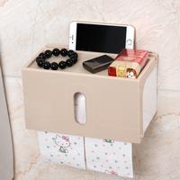 plastic waterproof wall mounted toilet paper towel holder for bathroom