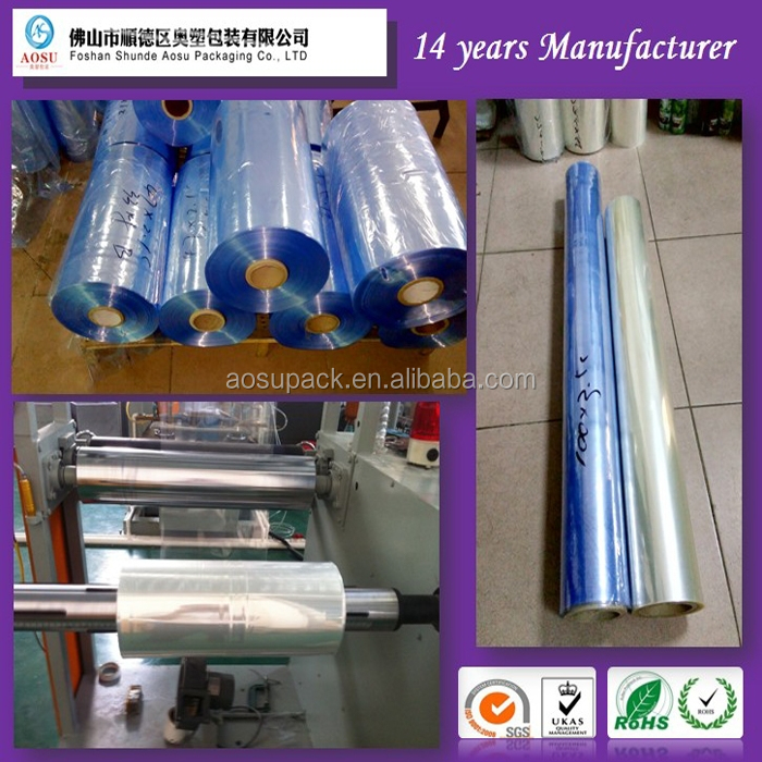 PVC heat shrinkable print film/PVC printable film