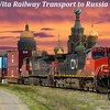 Railway Transport Container Shipping To Russia