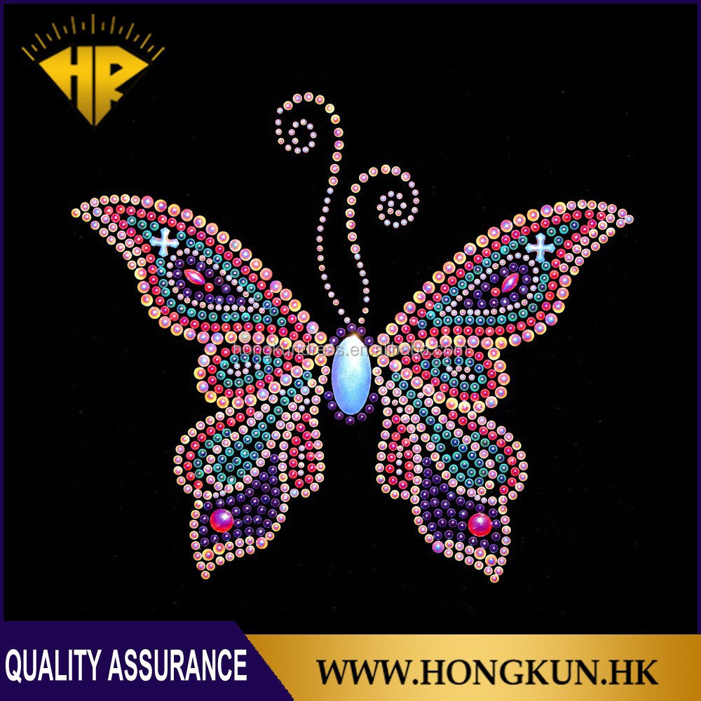 Butterfly iron-on stickers for t-shirt