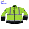Traffic safety wear long sleeve jacket for road working
