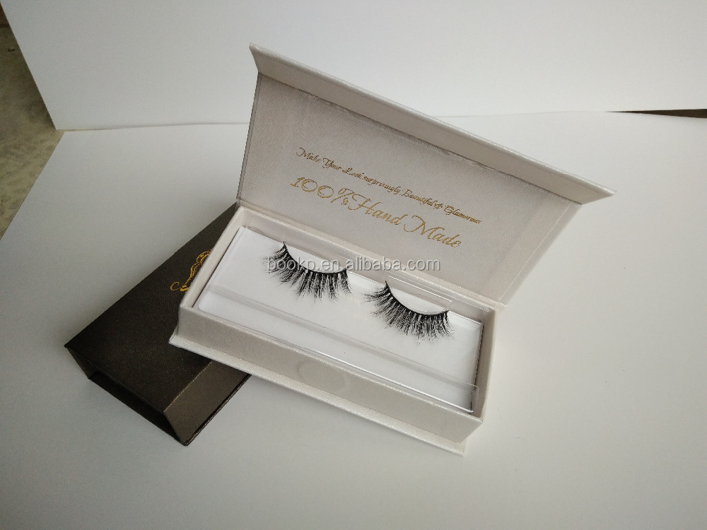 Wholesale Recyclable Cosmetic Custom Eyelash magnetic Packaging Paper Box