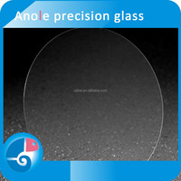 Anole clear quartz glass wafers AGC NSG i glass 370*470mm /0.15mm tempered glass screen protector