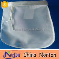 Foldable nylon mesh small drawstring bag NTM-F5189H