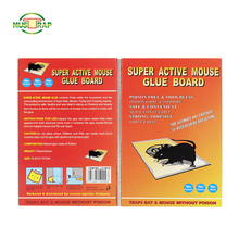 Mustrap pest control products eco-friendly mouse trap mouse glue pad