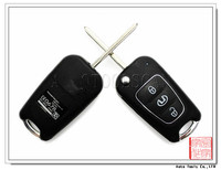 Brand new car 3 button Flip Remote Key Shell for Hyundai [AS020018]