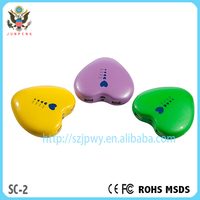 Free shipping best quality heart shape power bank with appearance patent