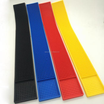 3d design pvc bar spill mat made by eco-friendly soft pvc rubber bar beer mat