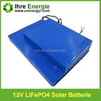 solar battery 18650 26650 ultra-thin lifepo4 battery 2000 times deep cycle 30ah bateria 12 volts