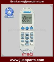 KT-B02 codes for universal remote for air conditioners