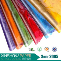 papel de celofan cellophane film packing flower/plastic wrap film